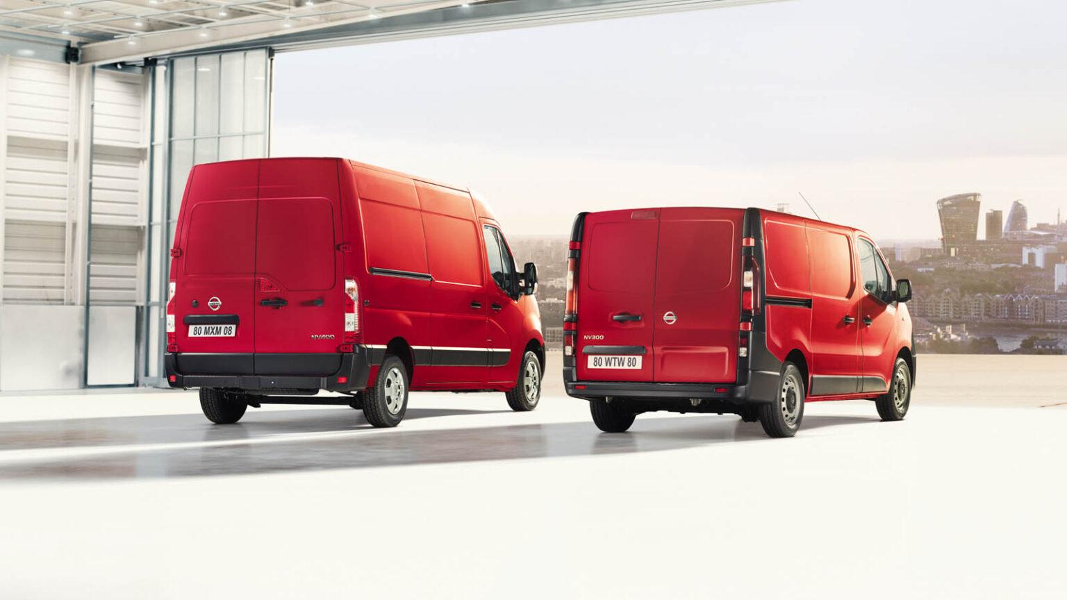 Nissan uvodi poboljšanja za NV300 i NV400 - Kamioni
